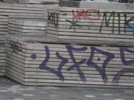 In Monastiraki Square